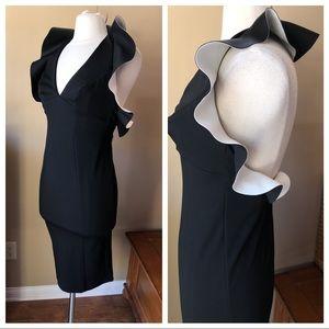 NWT Asos Black White Dress